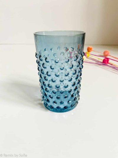anna von lipa, anna von lipa pindsvine glas, pindsvineglas, vandglas, drikkeglas, glas i pindsvineglaspindsvineglas blue smoke
