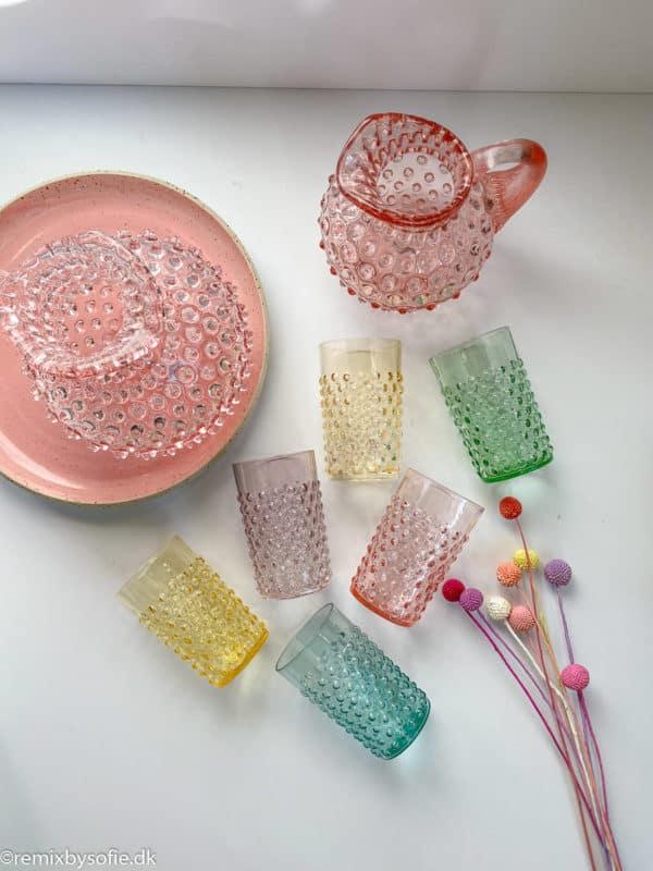 Pindsvine glas inspiration