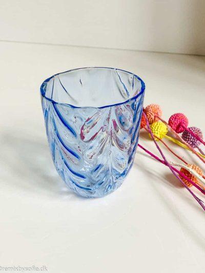 anne von lipa mix & match wawe glas i lyseblå