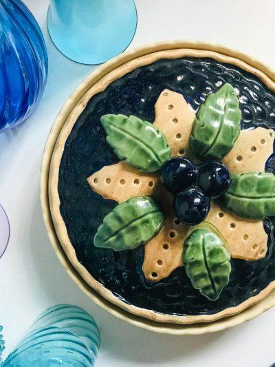 tærtefad blåbærlåg