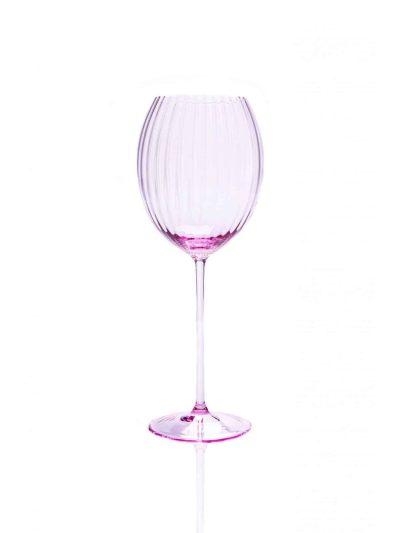 lyon ovalt vinglas, lyslilla vinglas, bordækning, mundblæst glas, handblown wineglass, bordækning, glas