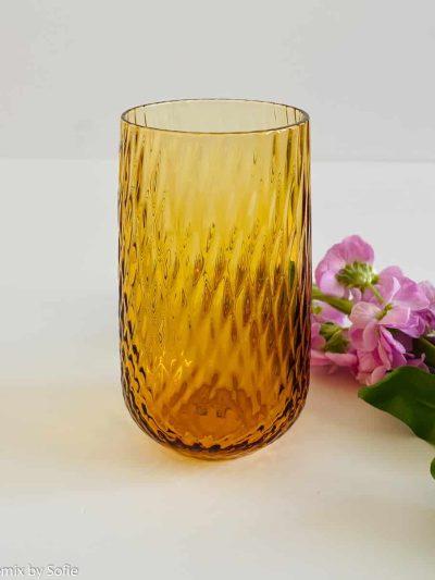 aanna von lipa hekla mundblæst glas, tumbler, vandglas, drikkeglas