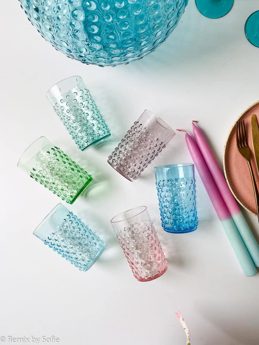 anna von lipa pindsvine vandglas glas, anna von lipa, anna von lipa pindsvine glas, pindsvineglas, vandglas, drikkeglas, glas i pindsvineglasanna von lipa pindsvine glas, hobnail glasses,
