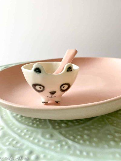 rikke maglesen keramik, saltkar, skål, smykkeskål, mini urtepotte