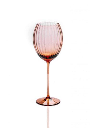 lyon ovalt vinglas, bronze brunt vinglas, bordækning, mundblæst glas, handblown wineglass, bordækning, glas