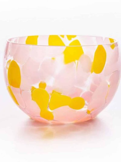 glas skål, skål i glas, lille skål, tapas skål, skål med opal spots