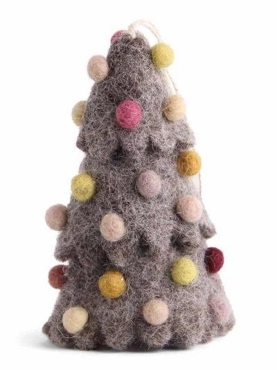 juletræ, én gry & sif, en gry & sif, filt julepynt, julepunt i filt, filt fra nepal