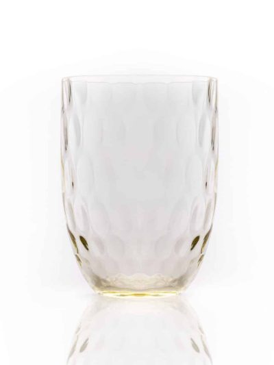 olive i citrin, gult olive glas, mundblæst glas, håndlavet glas, håndlavet drikke glas, mundblæst vandglas, glas i farver, remix by sofie, anna von lipa mix & match, swil glas, wawe glas, vandglas, harlekin glas, tumbler, vand glas, drikkeglas, drinking glass