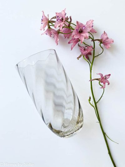longdrink swirl lys chokolade, anna von lipa glas, anna lipa forhandler, farvet glas, mundblæst glas, drinkglas, drikkeglas,longdrink, drink glas, stort vandglas,