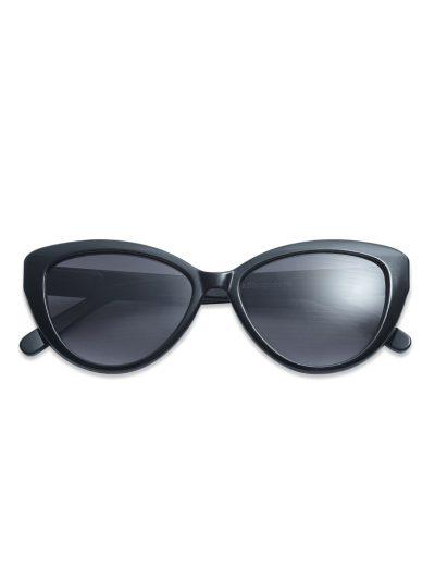 solbriller, have a look, cateye, cateye black, sort stel, sort brille