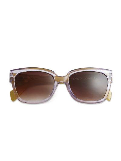 have a look, solbriller, mood purle/lime, solbriller i lilla,