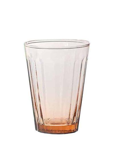 Remix by sofie, glas, vandglas, italiensk glas, mundblæst, mundblæst glas, mundblæst vandglas, drikkeglas, rosa,