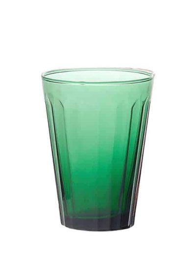 Remix by sofie, glas, vandglas, italiensk glas, mundblæst, mundblæst glas, mundblæst vandglas, flaskegrøn,