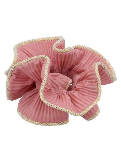 bow's by stær, scrunchie, lilje scrunchie, lilje, hårtilbehør, hårpynt, antique rose, antique rosa, rose, rosa,