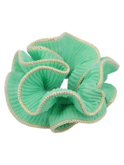bow's by stær, scrunchie, lilje scrunchie, lilje, hårtilbehør, hårpynt, mint, mintgrøn, mint scrunchie,