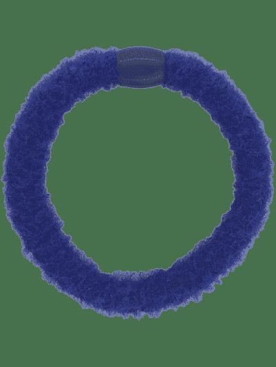 hår elastik, hårelastik, harties, hårpynt, bow's by stær, fluffy, fluffy blueberry, blueberry,