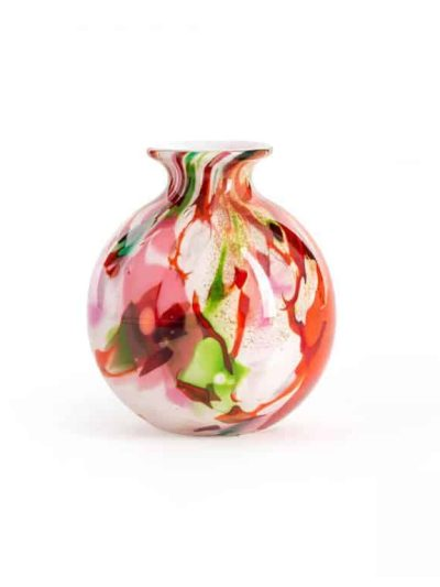 remix by sofie, mundblæst vase, vase opalglas, vase til grene