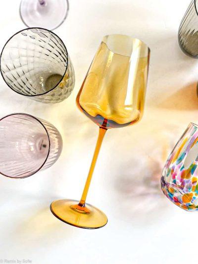 Remix by sofie, vinglas, rødvinsglas,mundblæst glas, borddækning,Remix by sofie, vinglas, rødvinsglas,mundblæst vinglas, wineglass, handblown, handmade, bohemian glass