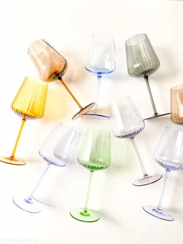 remix by Sofie, wine glass, mouth blown wine glass, Remix wine glass, red wine glass, white wine glass