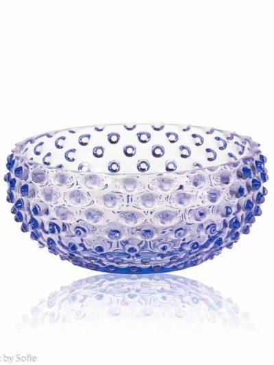 anna von lipa skål, pindsvine skål, pindsvineskål, glas skål, farvet glas, skål i glas, mundblæst skål, remix by sofie