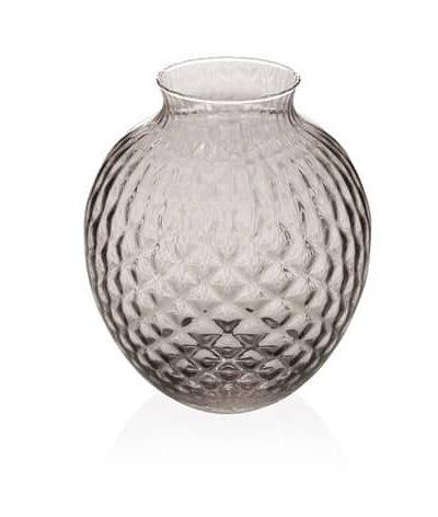 remix by sofie, vase, harlekinvase, vase i halekinmønster, mellem vase, halekinmønster,