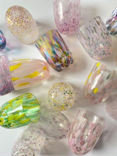 Confetti & Splash glas