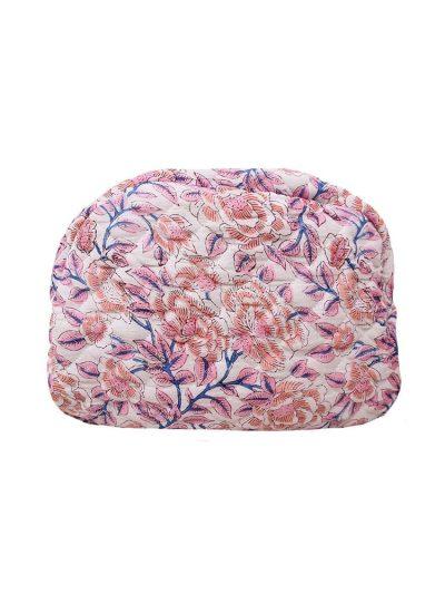 remix by sofie, ellies and ivy, ellies & ivy, washbag, toilettaske, blomsterprint, toiletaske i blomsterprint, toilettaske med blomsterprint, organisk bomuld, toilettaske i organisk bomuld