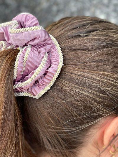 remix by sofie, bows by stær, scrunchie, hårpynt, hårstyling,