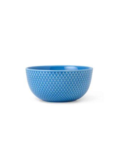 remix by sofie, lyngby porcelæn, rhombe, rhome tallerken, rhombe skål, skål, blå skål, rhombe blå skål