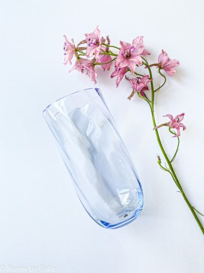 longdrink swirl babyblue, anna von lipa glas, anna lipa forhandler, farvet glas, mundblæst glas, drinkglas, drikkeglas,longdrink, drink glas, stort vandglas,