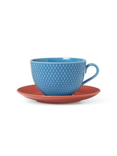 tekop, underkop, rhombe, lyngby porcelæn, remix by sofie,