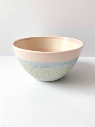 skål, porcelæns skål, skål i pasteller i porcelæn, pastel